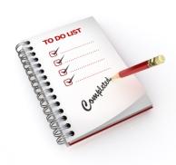 completed task list