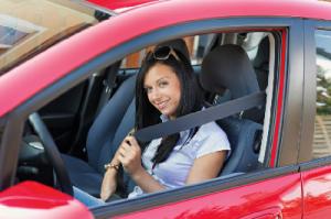 Driving Safely seat belt