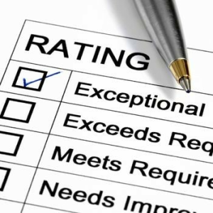 EAP Performance Review, rating