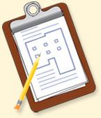 crisis management plan clipboard