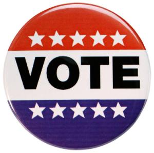 vote pin button election 2012